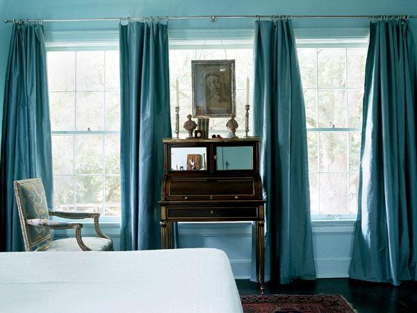 модные шторы для спален.