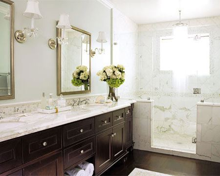 Modern Bathroom Marble Countertops