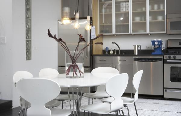 dining rooms - chairs table Cool, funky modern kitchen