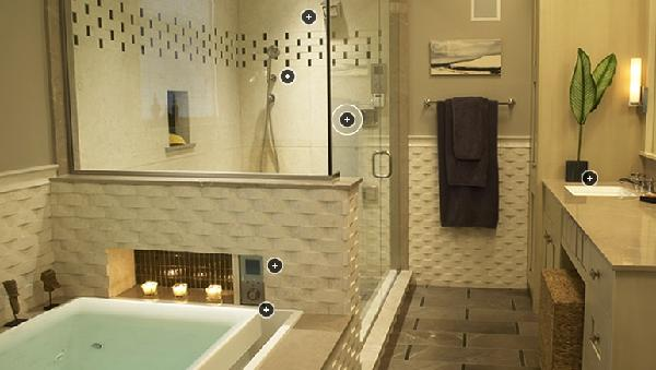 Foolproof Bathroom Color Combos : Rooms : Home & Garden Television