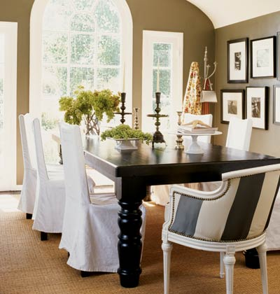 Dining Room Chair Slip Cover