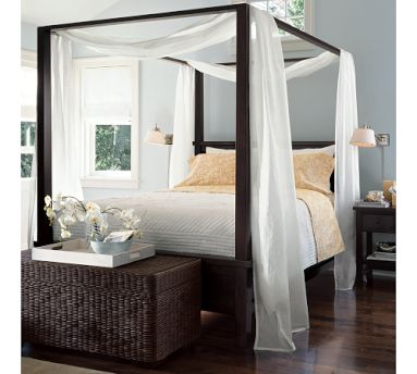 Martini Suite Queen Canopy Bed - Ashley Furniture HomeStore: Home