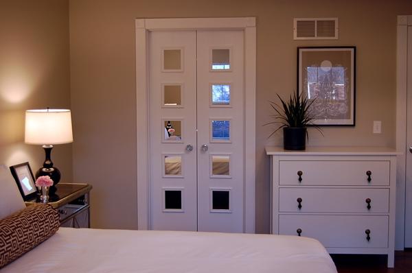 Interior Mirrored Doors