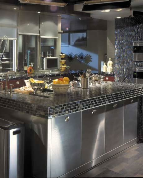 kitchen sink in a classical style design