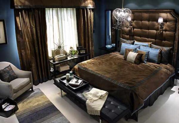 dormitorio de marron