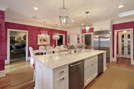 All Pink Kitchen 23 best pink kitchens images on pinterest | pink kitchens, dream