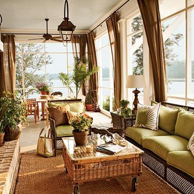 Tropical Living Room Furniture On Miscellaneous Outdoor Green Rattan