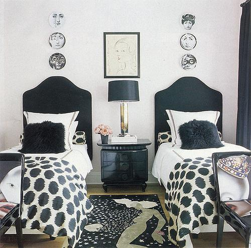 ... decorative plates wall art black headboards fluffy black. decorpad & Just Add a Throw - Quick bedroom update ~ Your Decor NYC