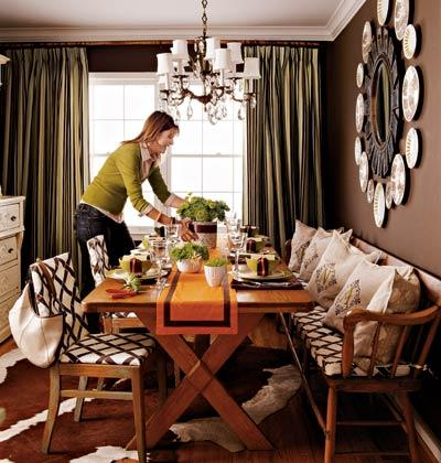 Dining Table Living Room on Dining Rooms   Fran Keenan Cottage Living Magazine X Dining Table