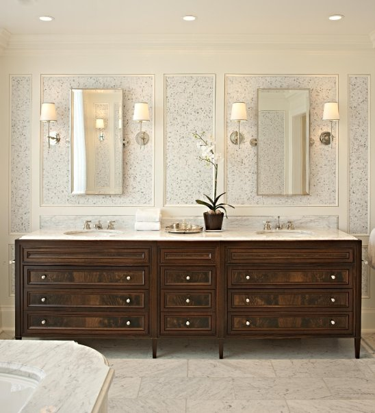 Designer Bathroom Sinks on Mcgill Design Group   Bathrooms   Bryant Sconce  Silver  Bathroom