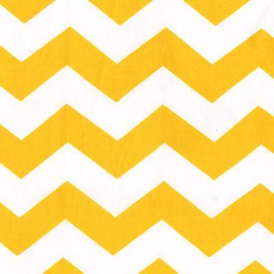Suzie: Home - Chevron Yellow - Funky - yellow, chevron, fabric