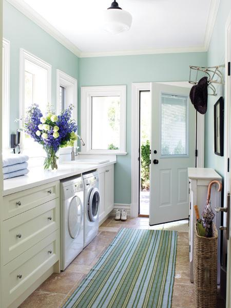 Create A Simply Luxurious Laundry Room