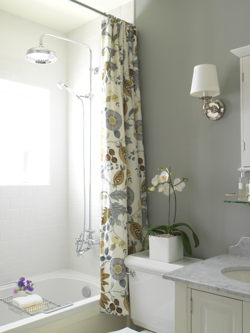 The Ivy Trellis - Custom Shower Curtains