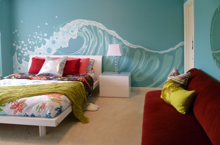 Turquoise And Red Room Decor Ideas Leadersrooms