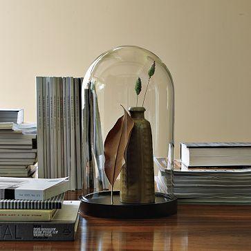 Suzie: Home - Cloche | west elm - glass, cloche