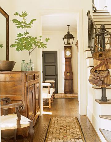 Suzie:  Barbara Westbrook  Pieter Estersohn Photography  gorgeous cottage foyer design with ...