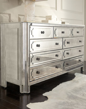 Horchow Hager Mirrored Chest Look 4 Less!
