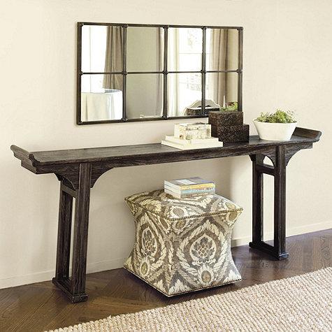 Ballard Designs Ananda Table Is Great If You Have A Very Long Sofa It 81 5 L X 12 D 33 H And Comes In Two Colors 429