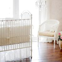New Arrivals Inc - nurseries - #nursery, #babybedding, #velvet, #ivory, #classic,  Velvet Baby in Ivory